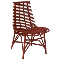 East At Main's Carson Modern Red Washed Chair