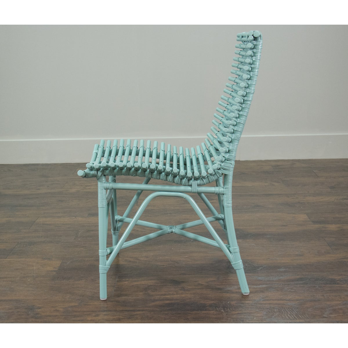 East At Main\'s Carson Modern Blue Washed Chair - Free Shipping Today ...