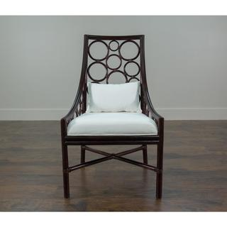 Davenport Contemporary Off-white Polished Chair