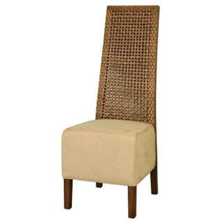Bellevue Contemporary Brown Textured Chair