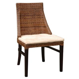 Rowlett Casual Brown Textured Chair
