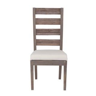 Terrebonne Transitional Brown Washed Chair