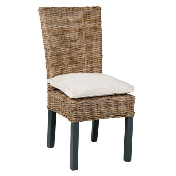 Shop winnipeg casual brown rattan dining chair free