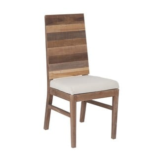 Edmonton Rustic Brown Chair