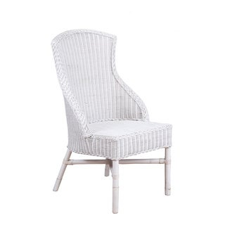 Seneca Traditional White Painted Chair