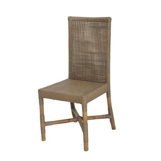 Donald Transitional Tan Wooden Chair