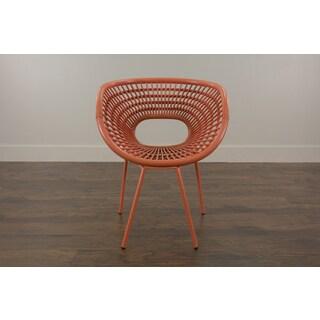 Riddle Modern Orange Fiber Chair