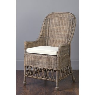 Ruston Casual Grey Textured Chair