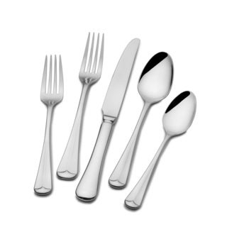 St. James Italian Bistro Flatware 18/ 10 Stainless Steel 65-piece Set (Service for 12)