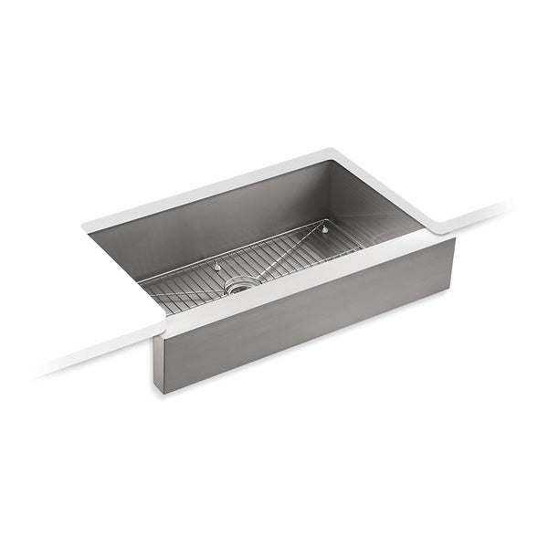 Kohler Vault Undercounter Stainless Steel Single Bowl Kitchen Sink Free Shipping Today