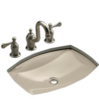 Kohler Kelston Undermount Bathroom Sink in Sandbar