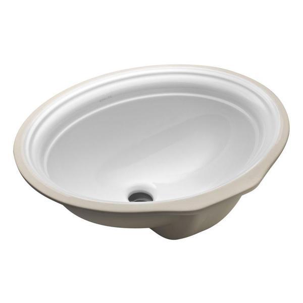 Kohler Devonshire Undermount Bathroom Sink In White