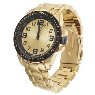 Xtreme Men's Black Case and Gold Dial / Gold Strap Zunammy Watch