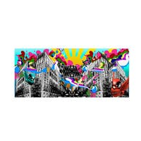 Miguel Paredes 'Urban Rainbow' Canvas Art - Multi