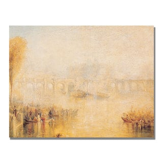 Joseph Turner 'View of the Pont Neuf' Canvas Art