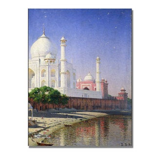 Vasili Vereschagin 'Taj Mahal' Canvas Art
