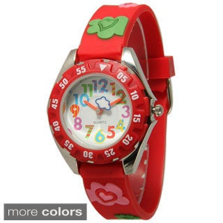 Olivia Pratt Kids' Hearts and Clovers Watch