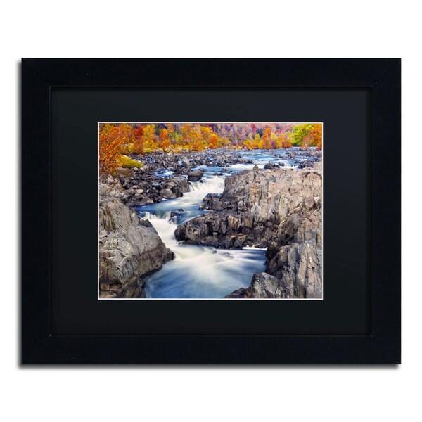 CATeyes 'Great Falls' Black Matte, Black Framed Wall Art