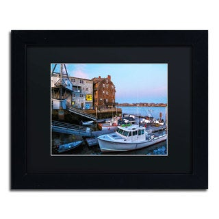 CATeyes 'Marblehead' Black Matte, Black Framed Wall Art
