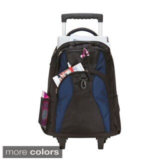 Goodhope School Elevated Rolling 17-inch Laptop / Tablet Backpack