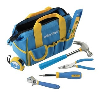 Great Neck 7-piece Essential Around the House Tool Kit-Blue
