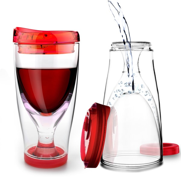 Asobu 39 s chill vino 2 go portable wine tumbler free shipping on orders over 45 - Vinogo portable wine glass ...
