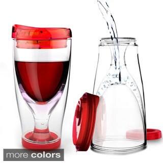 Asobu's Chill Vino 2 Go Portable Wine Tumbler