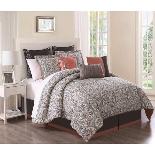 Grace Cotton Print 9-piece Comforter Set