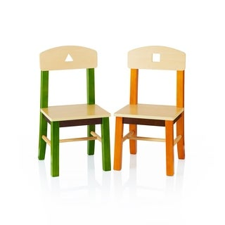 See and Store Extra Chairs (Set of Two)
