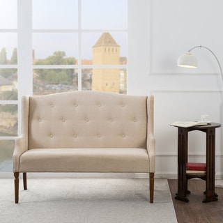 Jennifer Taylor Izzy Tufted Settee Bench