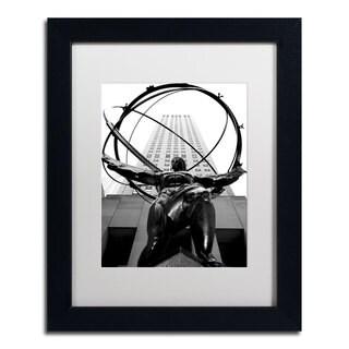 CATeyes 'Atlas' White Matte, Black Framed Wall Art