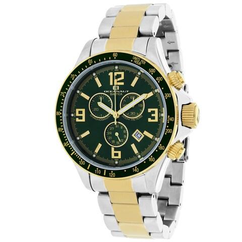 Oceanaut Men's Baltica Round Two-tone Stainless Steel Bracelet Watch