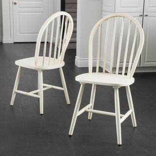 Countryside High Back Spindle Wood Dining Chair (Set of 2) by Christopher Knight Home|https://ak1.ostkcdn.com/images/products/10481472/P17570174.jpg?_ostk_perf_=percv&impolicy=medium