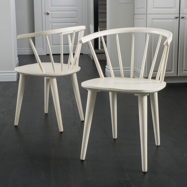 Shop Countryside Rounded Back Spindle Wood Dining Chair