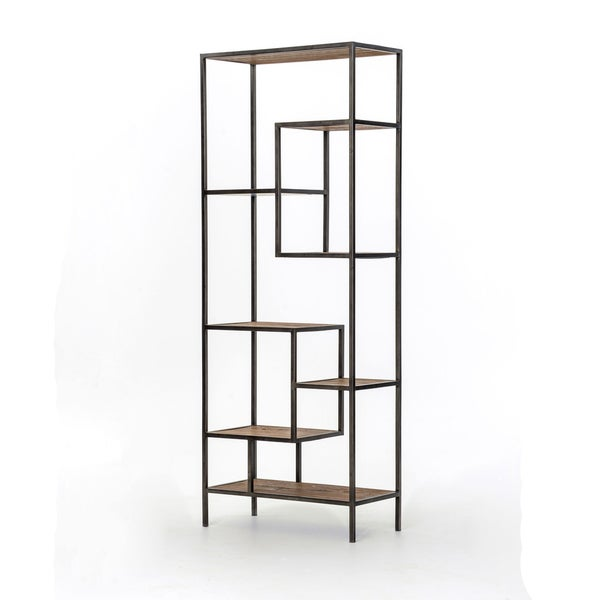 Reclaimed Pine 84-inch Bookcase - Reclaimed Pine 84-inch Bookcase - Free Shipping Today - Overstock