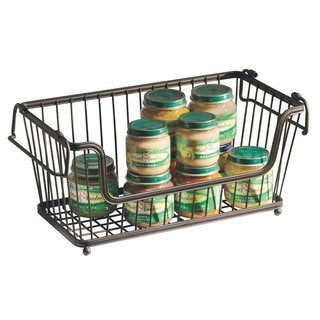 InterDesign York Open Basket Storage Bin