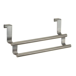 InterDesign Forma Over-the-Cabinet Double Towel Bar