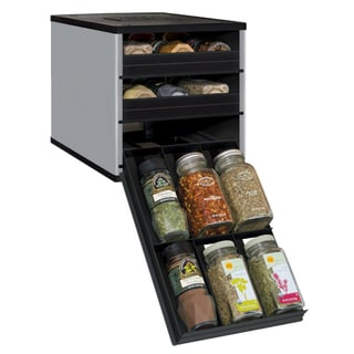 Original SpiceStack 18-bottle Spice Organizer with Universal Drawers