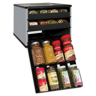 Classic SpiceStack 24-bottle Spice Organizer with Universal Drawers