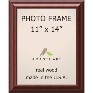 Luminous Walnut Photo Frame 13 x 16-inch