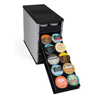Coffee Keeper Elite K Cup Under Cabinet Storage Rack