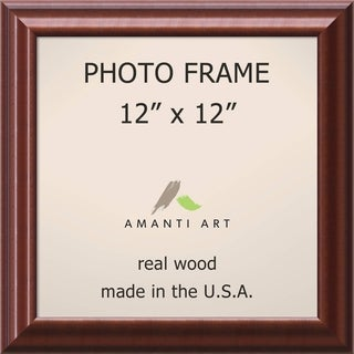 Luminous Walnut Photo Frame 14 x 14-inch