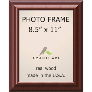 Luminous Walnut Photo Frame 11 x 13-inch