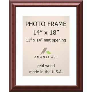 Luminous Walnut Photo Frame 17 x 21-inch