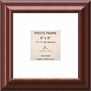 Luminous Walnut Photo Frame 11 x 11-inch