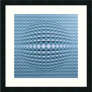 Peter Szumowski 'Abstract Composition, 1996' Framed Art Print 22 x 22-inch