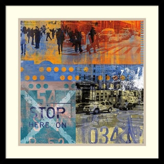 Sven Pfrommer 'Move On XI' Framed Art Print 21 x 21-inch