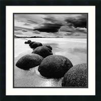 Framed Art Print 'Rocks' by PhotoINC Studio 22 x 22-inch