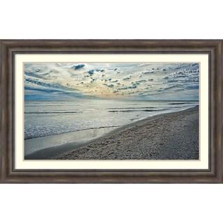 'Serenity Shoreline' Framed Art Print 46 x 30-inch