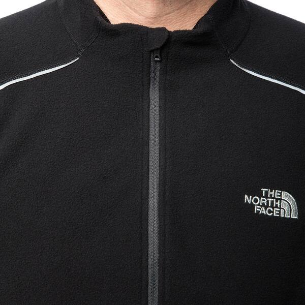 50f1969f0 Shop The North Face Men's Black TKA 80 1/4 Zip Pullover - Free ...